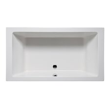 Vivo 72 x 36 Drop in Soaking Bathtub by Americh