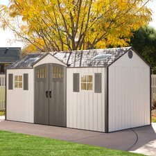 15 ft. W x 8 ft. D Storage Shed