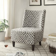 Fabric Accent Side Chair by !nspire