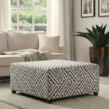 Fabric Cocktail Ottoman by !nspire