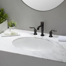 Elavo™ Oval Undermount Bathroom Sink with Overflow