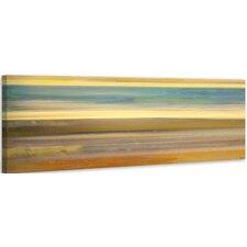 'Sand Streaks' by Parvez Taj Painting Print on Wrapped Canvas