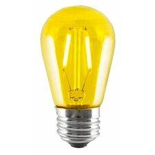 2W Yellow LED Sign Light Bulb (Set of 5)