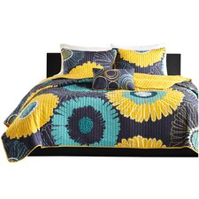 Vesta Reversible Coverlet Set