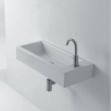 """Hox Ceramic 19.7"""" Wall mount Bathroom Sink"""