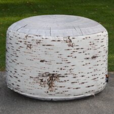 Pouf Birch Stump