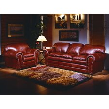 Torre 4 Seat Leather Living Room Set by Omnia Leather