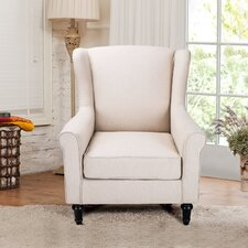 Living Room Single Armchair by Adeco Trading