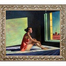 Morning Sun, 1952 by Edward Hopper Framed Painting Print