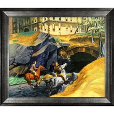 Bridle Path, 1939 by Edward Hopper Framed Graphic Art