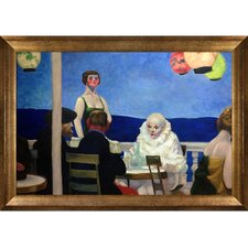 Soir Bleu, 1914 by Edward Hopper Framed Graphic Art