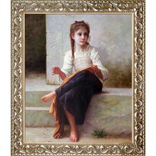 'The Dressmaker, 1898' by Adolphe-William Bouguereau Print on Canvas