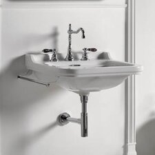 Waldorf 39 Wall-mount Bathroom Sink with Overflow by WS Bath Collections