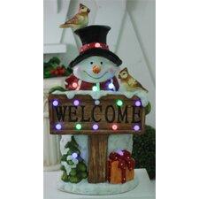 Musical Snowman Christmas Decoration