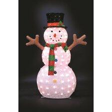 ice pattern snowman christmas decoration - Snowman Christmas Decorations