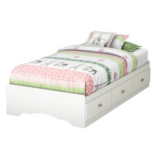 Tiara Twin Mates Bed with Storage by South Shore