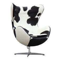 Inner Pony Hide Arm Chair by Fine Mod Imports