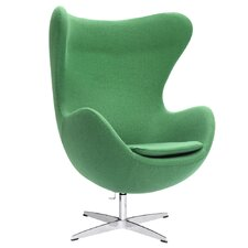 Inner Fabric Lounge Chair by Fine Mod Imports