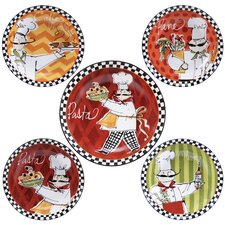 Chefs on the Go Pasta Bowl Set of 5