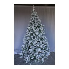 6' Snow Flocked Spruce Artificial Christmas Tree