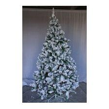 8' Snow Flocked Artificial Christmas Tree