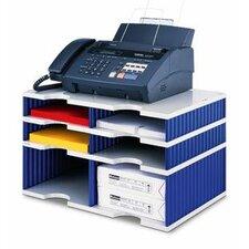 Styrodoc Duo 29.3cm H x 48.5cm W Desk Combination Unit