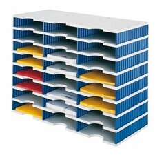 Styrodoc Trio 29.3cm H x 72.3cm W Basic Desk Unit