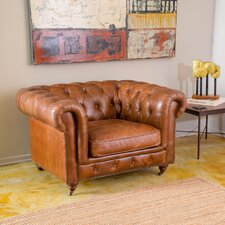 Clairent Tufted Chesterfield Chair by Home Loft Concepts