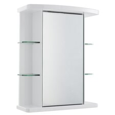 53cm x 66.5 cm Surface Mount Mirror Cabinet