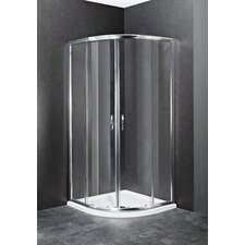 Ella Shower Enclosure in Satin Chrome