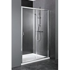 Ella 120cm x 185cm Sliding Shower Door