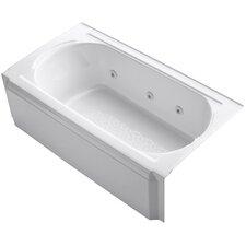 "Memoirs Alcove 60"" x 34"" Whirpool Bathtub"