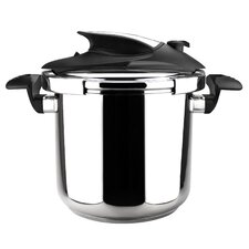 Nova 6-Quart and 4-Quart Stainless Steel Pressure Cooker Set