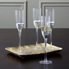 Chauncey Champagne Flutes (Set of 4)