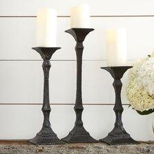 Roman Candlesticks (Set of 3)