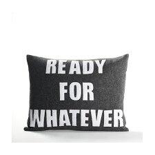 Zen Master Ready for Whatever Throw Pillow