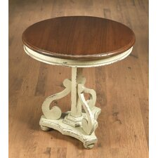 Round End Table by AA Importing