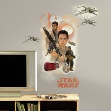 Star Wars Ep VII Hero Burst P and S Giant Wall Decal