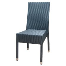 Outdoor Rattan Side Chair by DHC Furniture