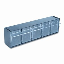 5-Compartment Tip-Out Bin