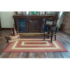 Santa Clara Red Indoor/Outdoor Area Rug