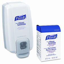 Purell Nxt Space Saver Hand Sanitizer Dispenser and Refill