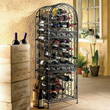 Estell 45 Bottle Floor Wine Rack