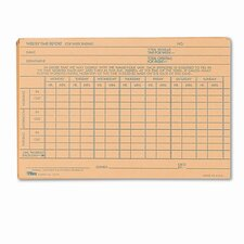 Employee Time Report Card