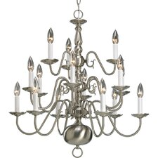 Americana 15-Light Candle-Style Chandelier