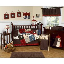 Wild West Cowboy 9 Piece Crib Bedding Set by Sweet Jojo Designs