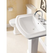 "Washington 650 26"" Pedestal Bathroom Sink"