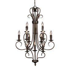 Castine 12-Light Candle-Style Chandelier