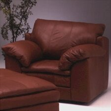 Encino Leather Club Chair by Omnia Leather