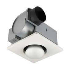 70 CFM Bathroom Fan with One Bulb Heater